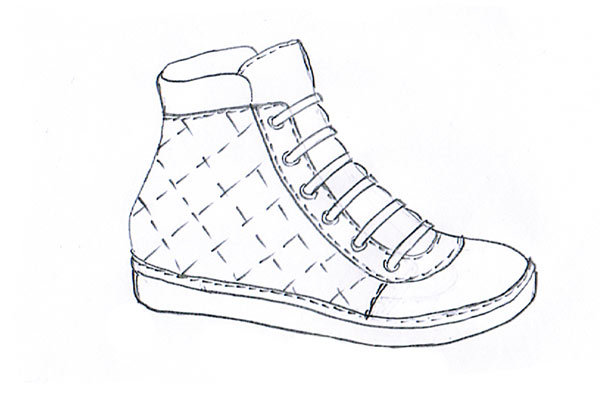 sneakers sketch 07
