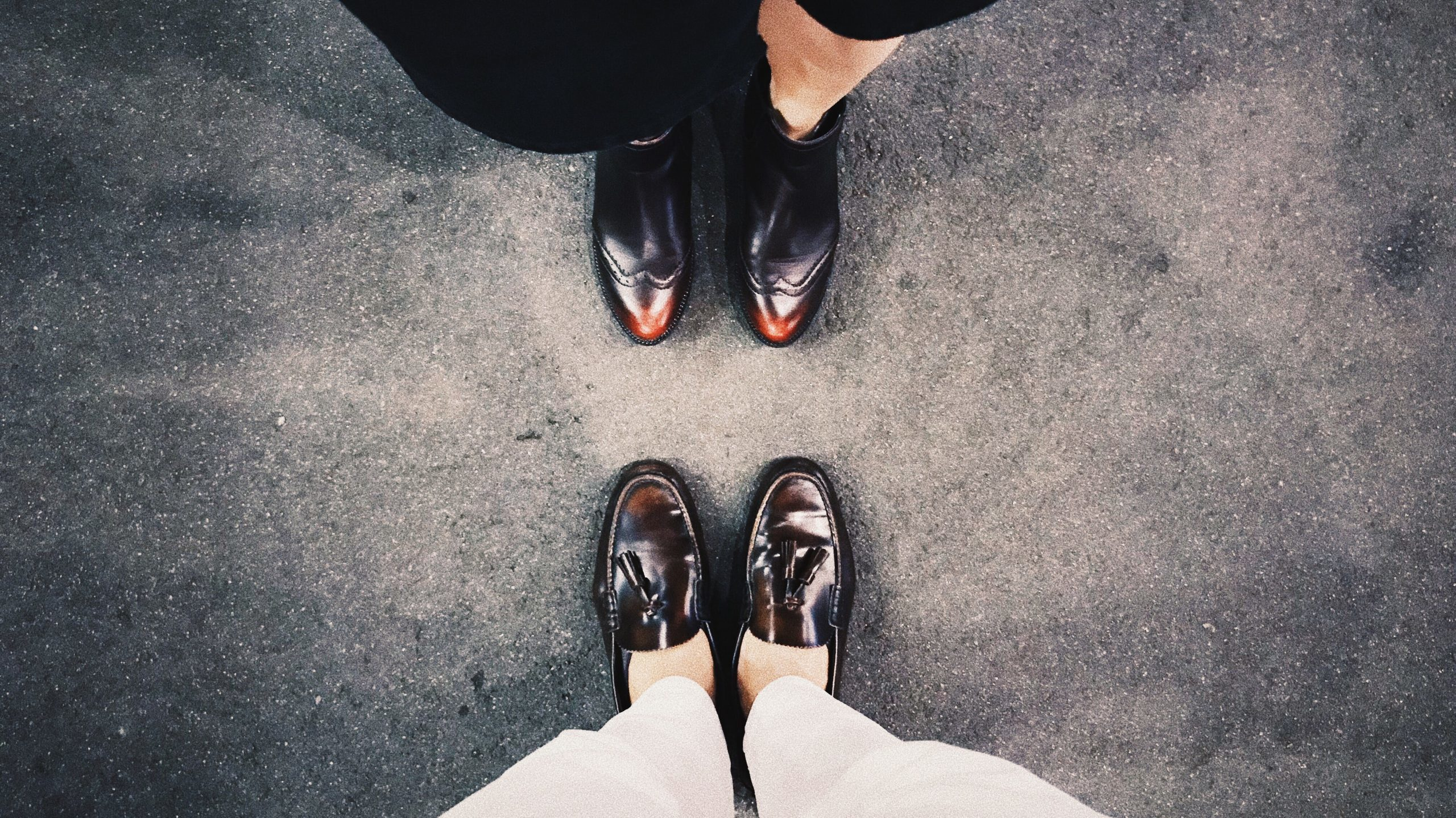 patina on shoes